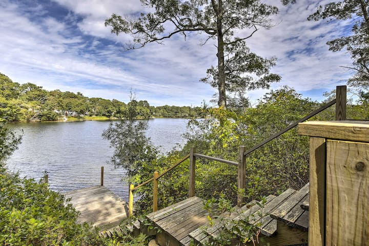 NEW-Waterfront Pocasset House w/Pvt Dock & Hot Tub