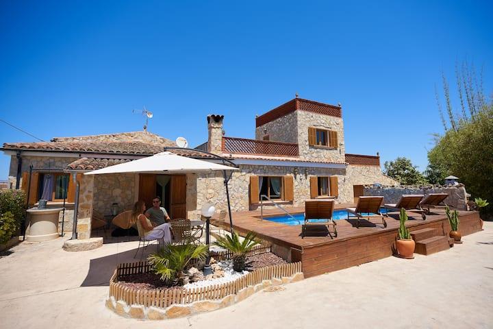 Son Roig, lugar idílico,en el corazón de Mallorca