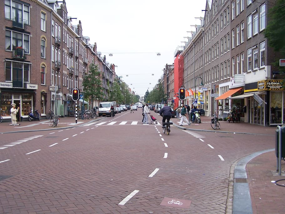 The street: Spaarndammerstraat