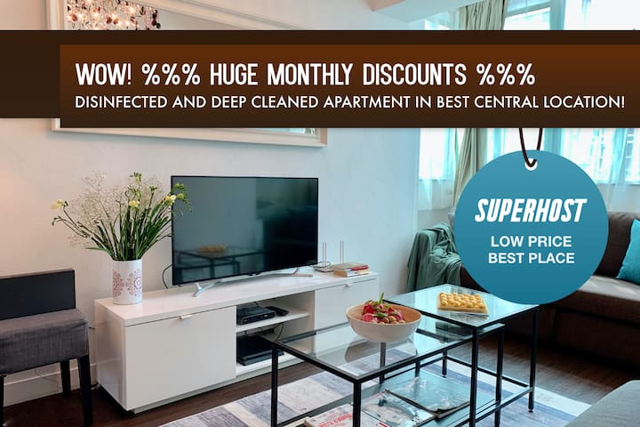 MONTHLY %%% DEAL! 4BEDR/5 BEDS/2BATH NATHAN ROAD