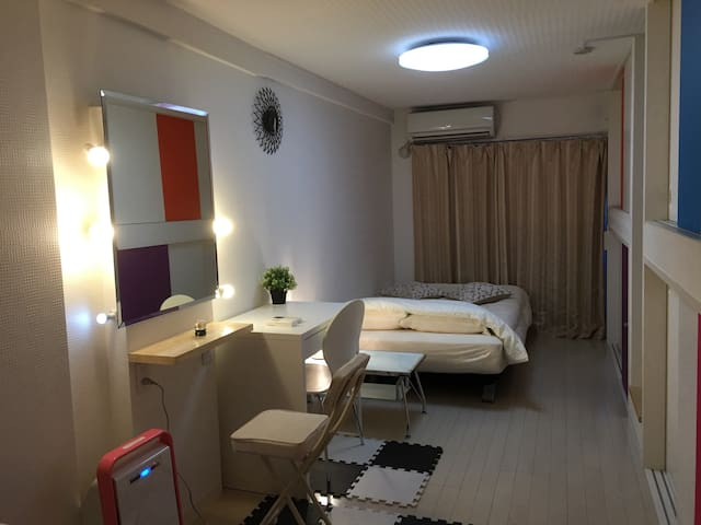 4pOK 1rm1sdBed+3loftBed over2days - 小金井市 - Appartement
