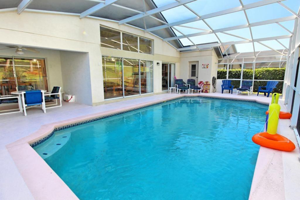 Extra large pool
