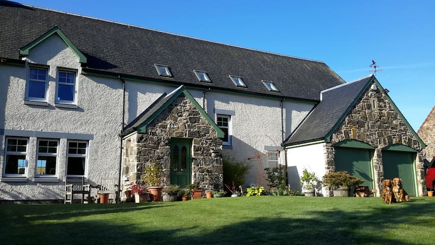 Bleachfield Mill, Auchtermuchty, Luxury B&B double