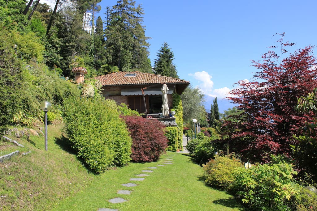 Garden and Villa