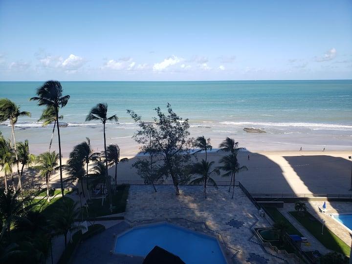 Flat com linda vista para o mar - Praia de Piedade