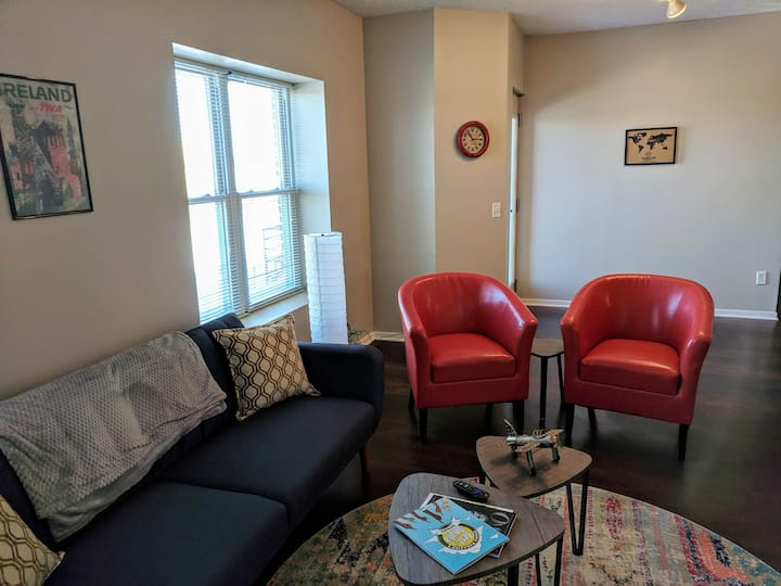 Brand New Comfy Beds! 1.7 Miles from Omaha Center!