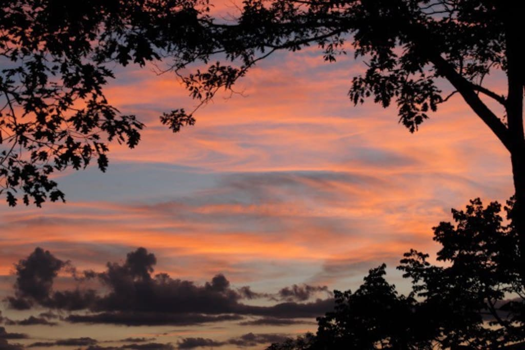 June 2016 Sunset, pic taken by guest.