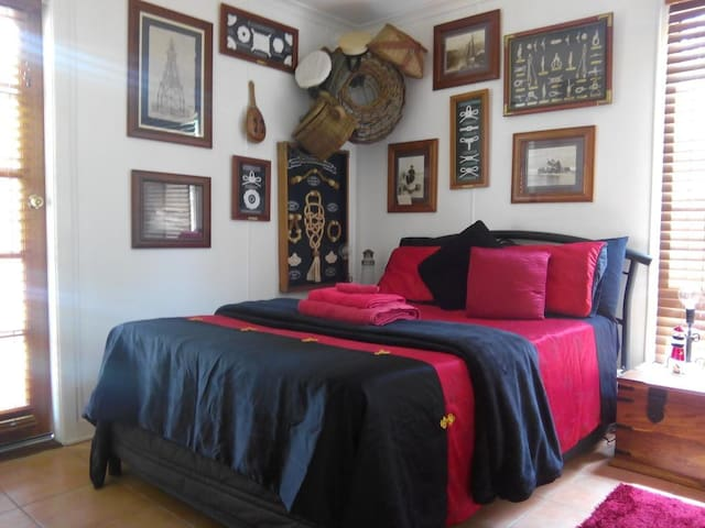 Room decorated with Maritime Theme