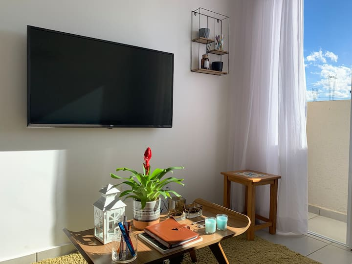 Apartamento Moderno&Contemporâneo - 10 Min. Centro