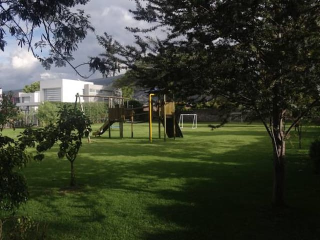 Private park for the complex