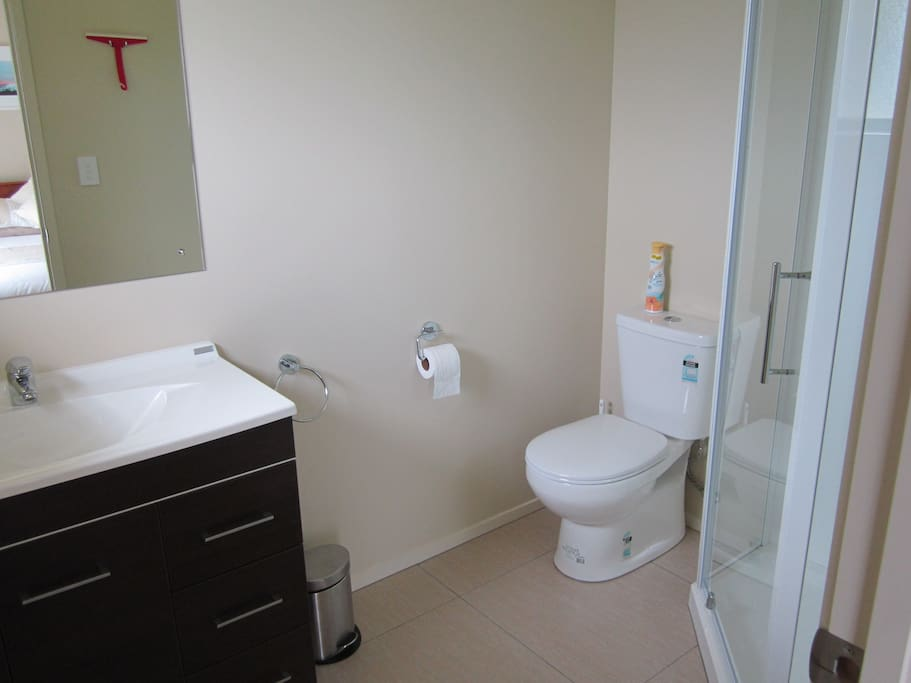 Ruapehu Room En-Suite Bathroom