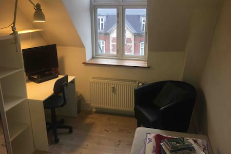 Small room in Copenhagen for one traveler person