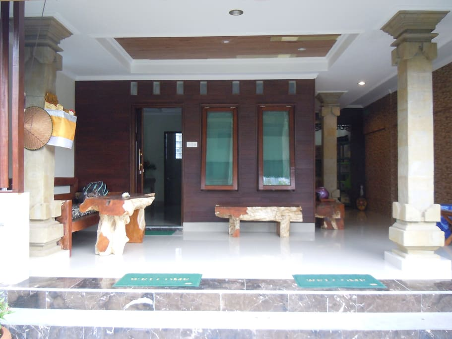 Your room & verandah