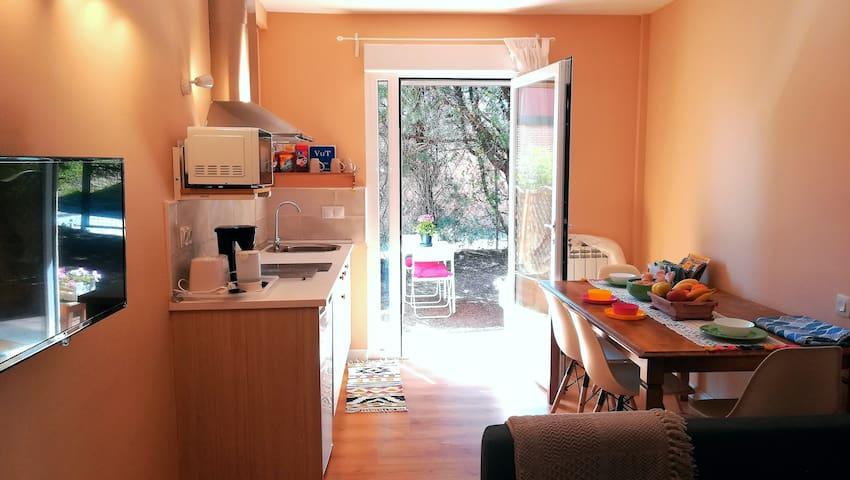 Apartamento con jardín frente al Duero. VUT 47-145