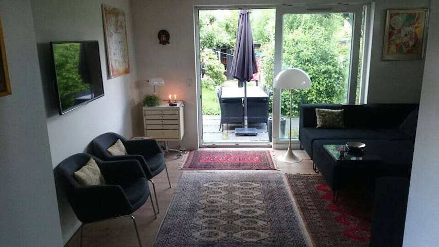 Lovely house with a garden to chill and have fun - Kongens Lyngby - House