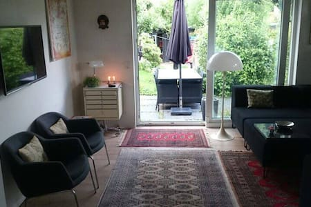 Lovely house with a garden to chill and have fun - Kongens Lyngby