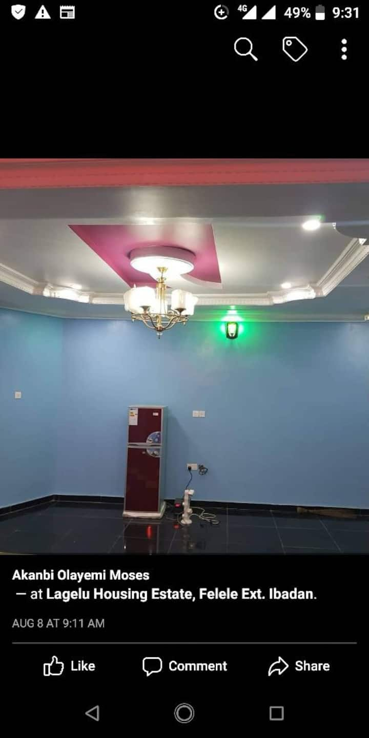 Luxurious Room and parlour self contain apartment