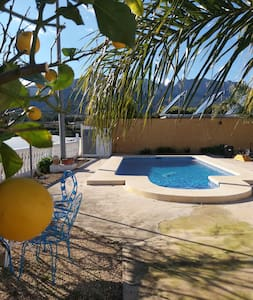 Country Finca with private pool sleeps 6 to 8. - Polop - Willa