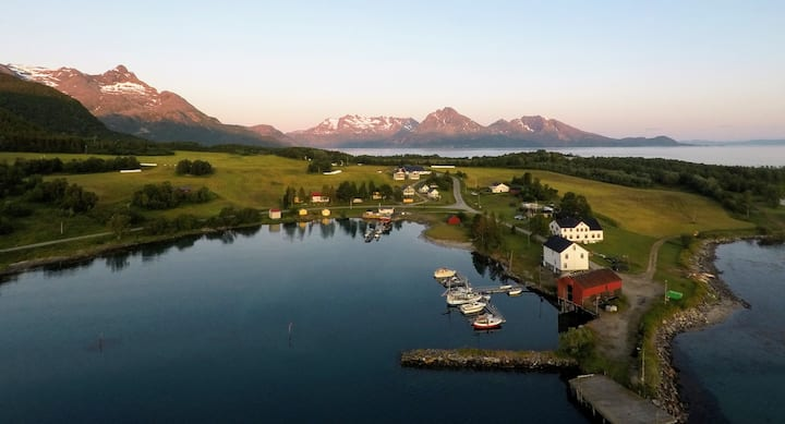 Experience midnight sun in northern Norway