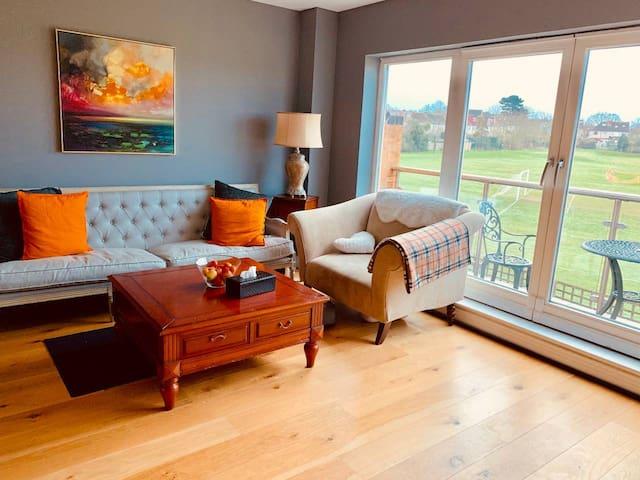 Amazing view en suite double room