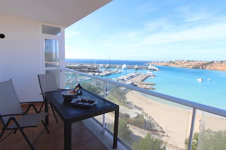 Seaview apartment in Port Adriano - El Toro