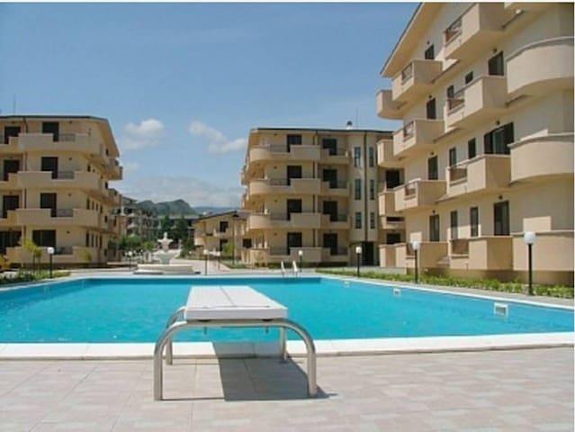 Appartement tout confort avec piscine