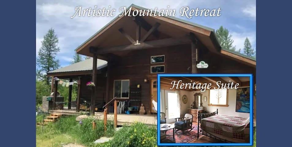 Artistic Mountain Retreat - Heritage Suite
