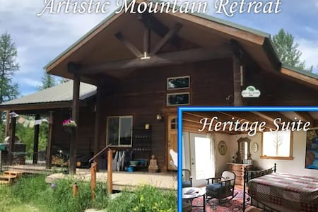 Artistic Mountain Retreat - Heritage Suite