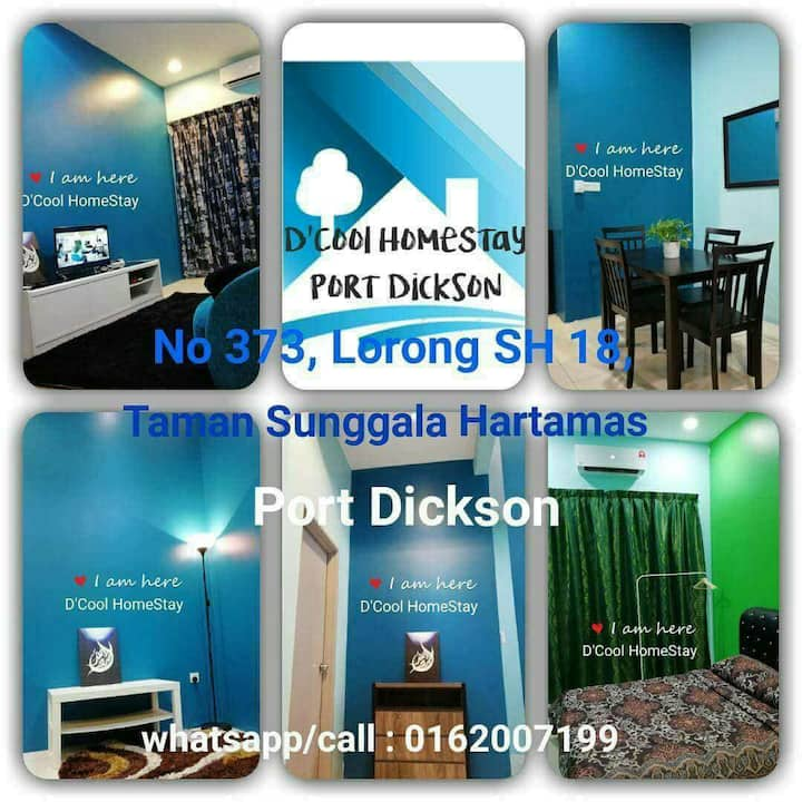 DCOOL HOMESTAY PORT DICKSON