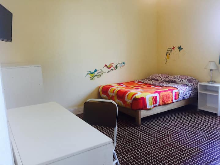 Private room with bathroom in great Barranco