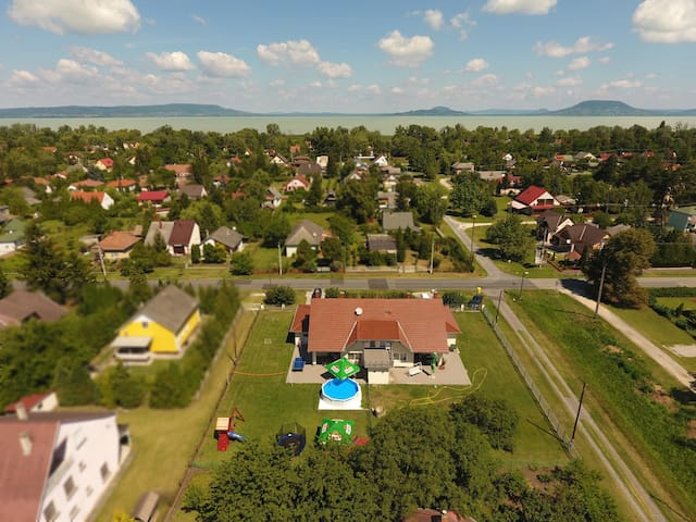 Berekside nyaralóház - Balatonkeresztúr - Casa