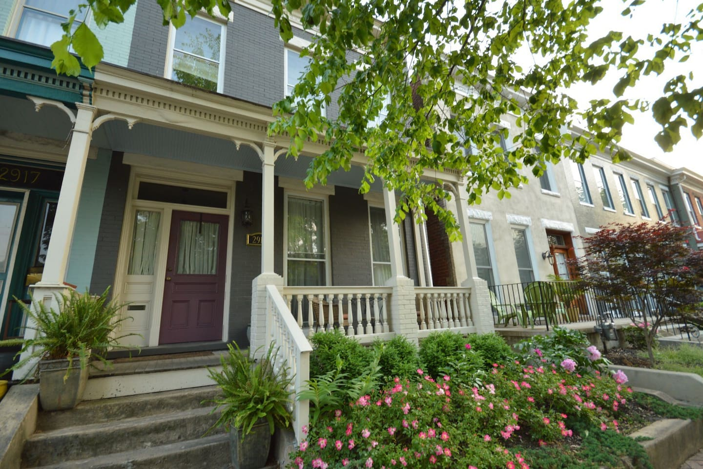Historic home, one block north of Broad, within walking distance of some of Church Hill's most popular restaurants and bakeries.