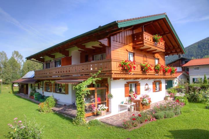 Vakantiewoning in Inzell met prachtig uitzicht