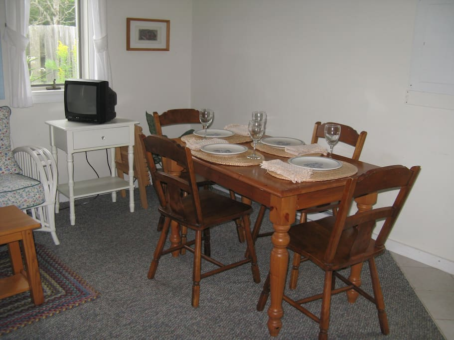 Dining room - sits four