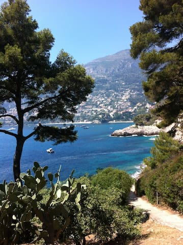 Costa Azzurra-Côte d'Azur-Cap Martin pool and sea - Roquebrune-Cap-Martin - Apartament