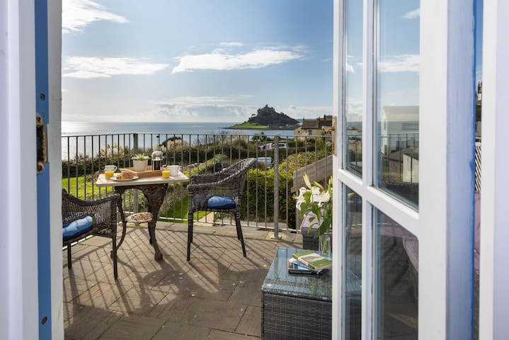 Trevara - A beautiful property with stunning view of St Michael's Mount