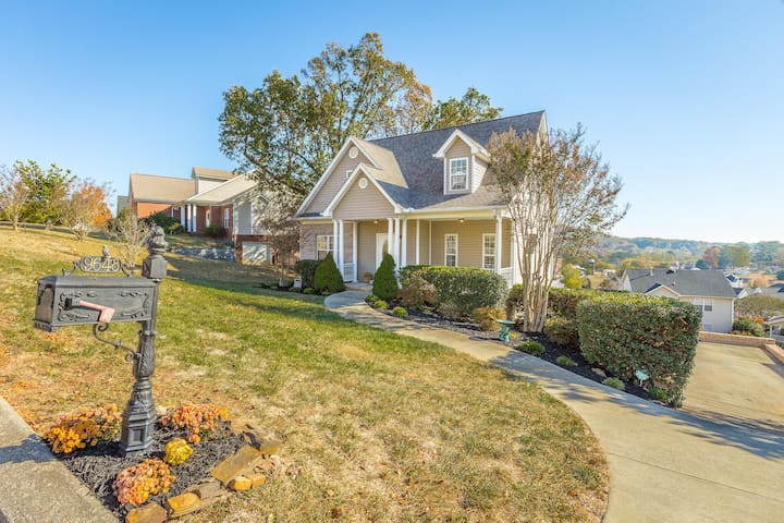 Comfortable Ooltewah home with scenic view - Ooltewah - Talo