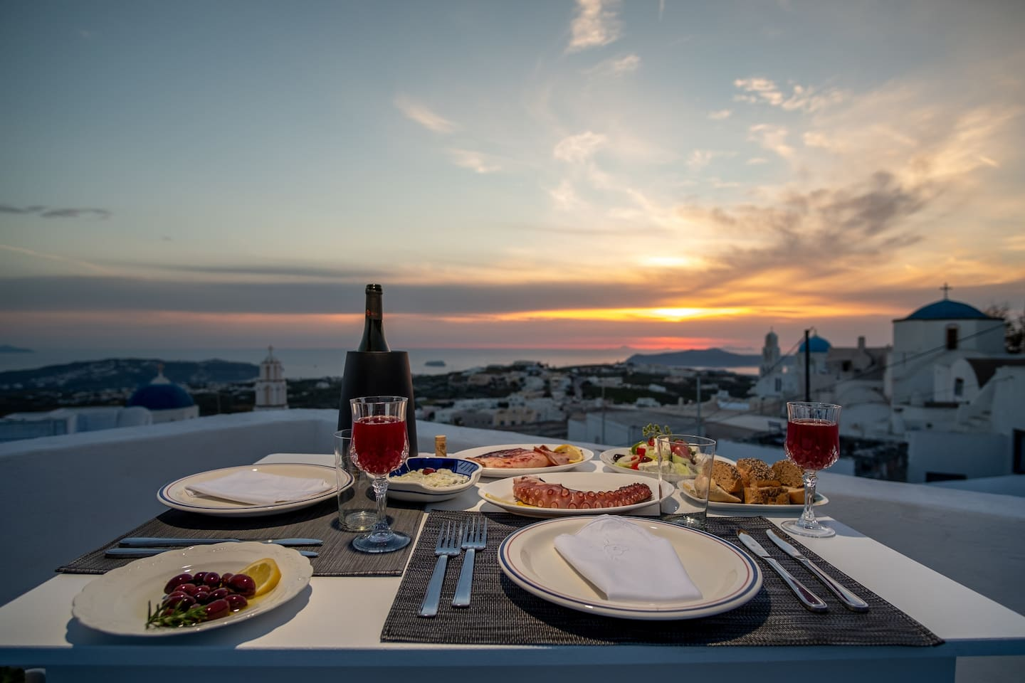 Your Personal Terrace to enjoy your dinner cocktail and breakfast