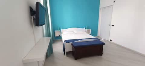 Camera matrimoniale Blu Mare