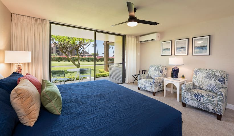 Sunset views and value in this super cute studio