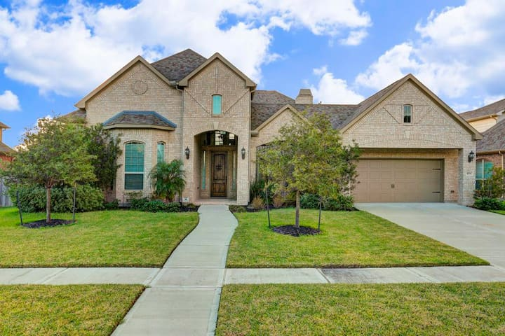 Large home 15 mins away from SuperBowl in Houston! - Manvel - Hus