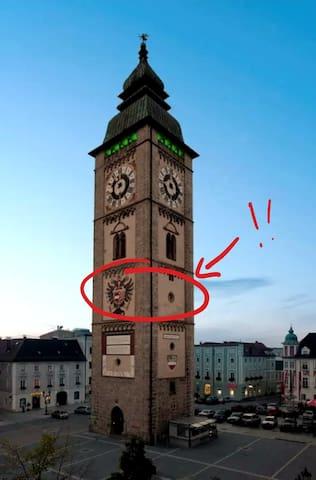 Sensationelles Zimmer im Ennser Stadtturm