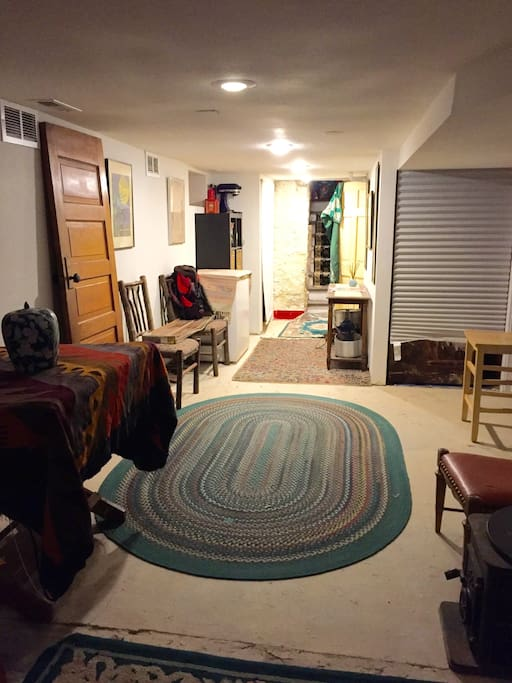 Full basement private space