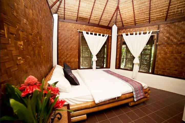 Cozy bungalow interior