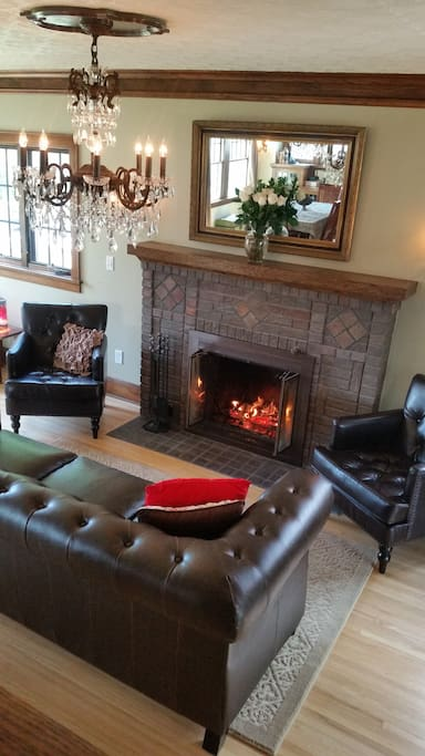 Fireplace detail, Living Room