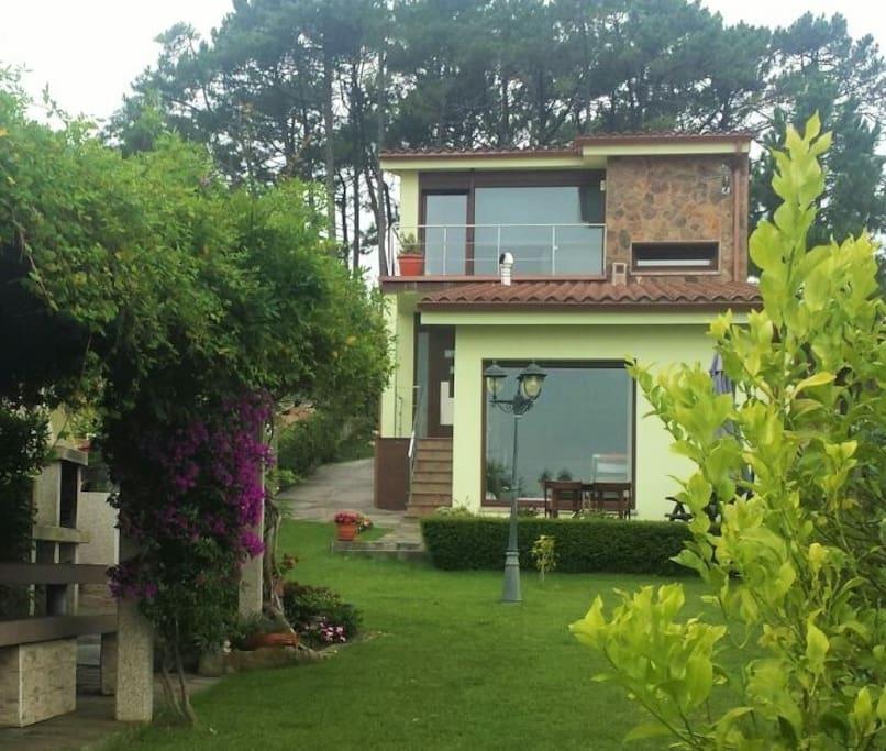 Balc n a la ria de arousa casas en alquiler en ribeira - Inmobiliarias en villagarcia de arosa ...