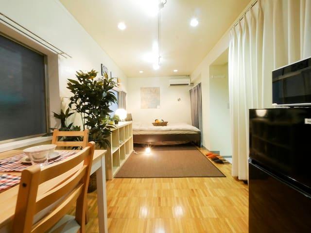 Within 10mins from SHIBUYA Sta./Free portable WiFi - Shibuya - Apartment