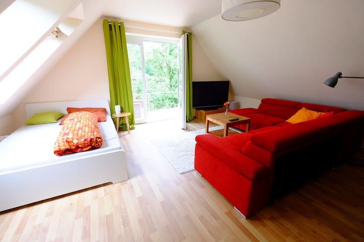 Gemütliches, kleines Apartment mit Terasse - Osnabrück - อพาร์ทเมนท์