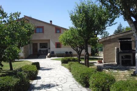 Casona 8-12 pax jardín 1200m2 mas de 30 álboles - Palazuelos de Eresma - Talo
