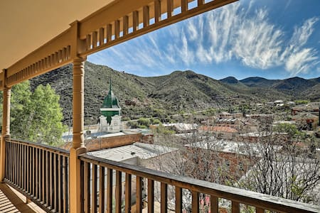 Downtown Bisbee Home w/ Unique Mountain Views